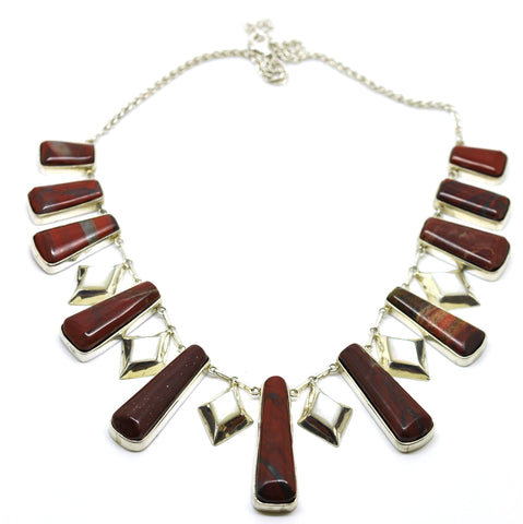 ON SALE Red Jasper Necklace (Clearance)