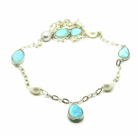 20 in 2020 - Blue Opal Necklace