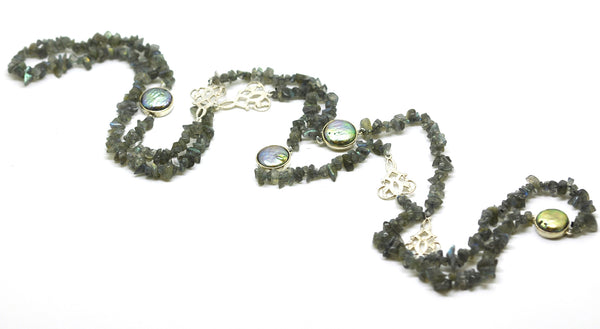 ON SALE Labradorite Necklace