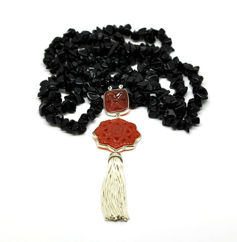 20 in 2020 - Black onyx necklace