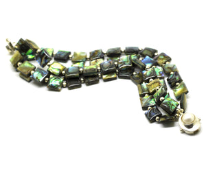 ON SALE Paua Shell Bracelet