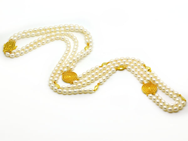 SOLD - ON SALE Pearl Necklace