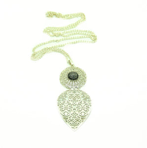 ON SALE Filigree Spear pendant 2