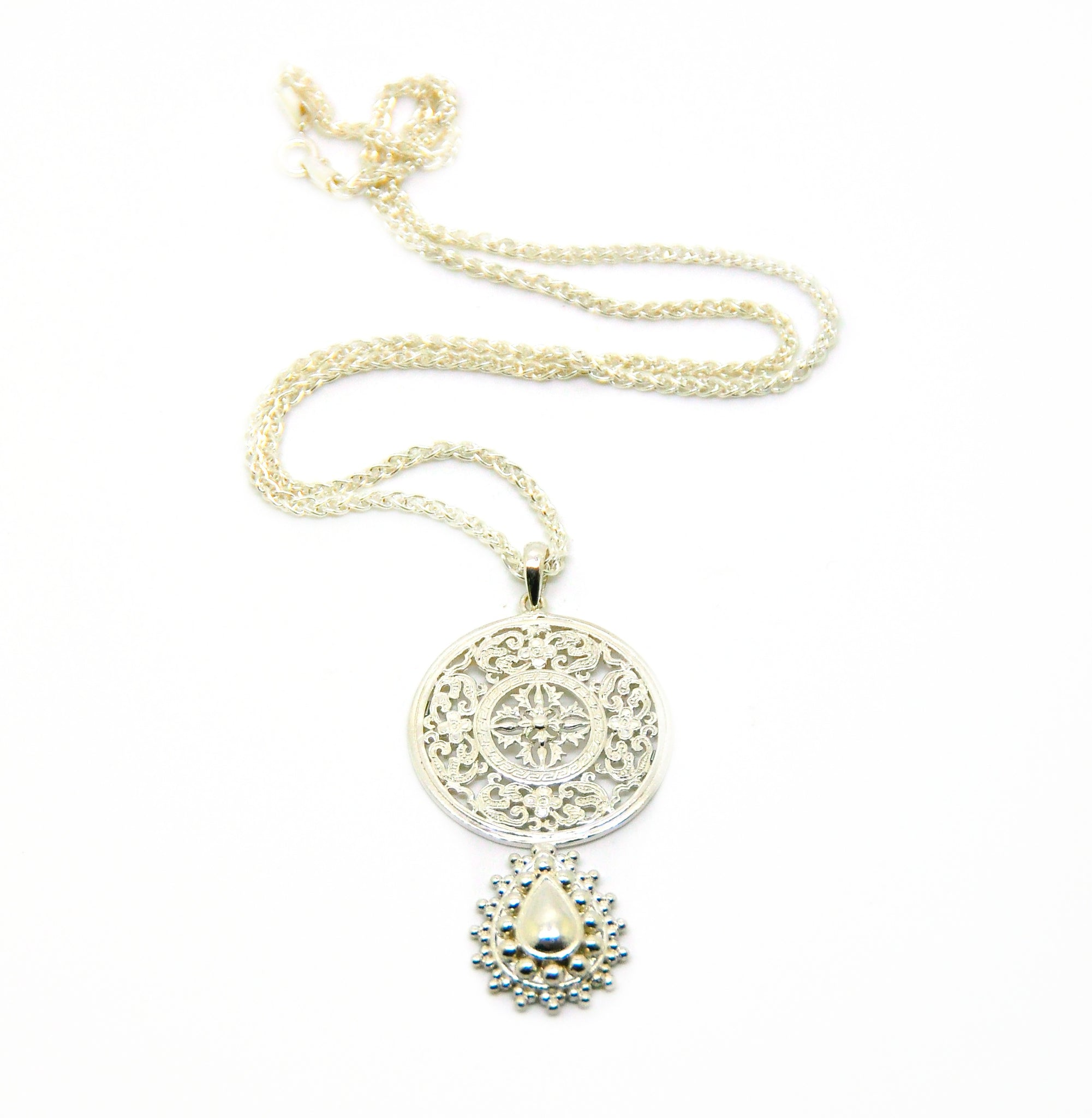 ON SALE Medallion pendant