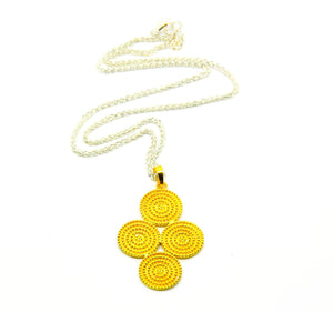 ON SALE Circular pendant 2