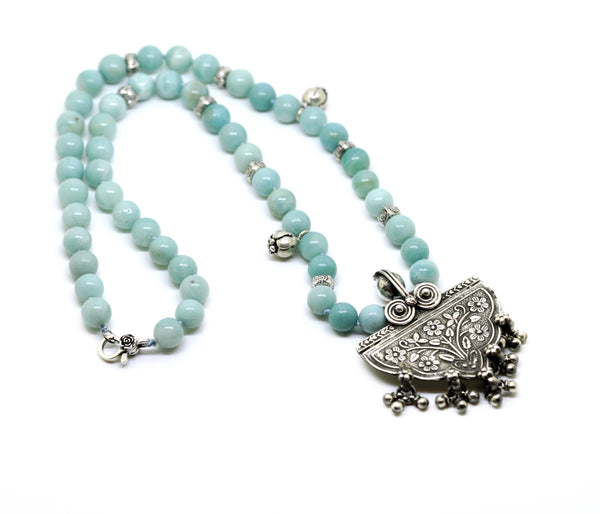 NEW Tribal Amazonite Necklace
