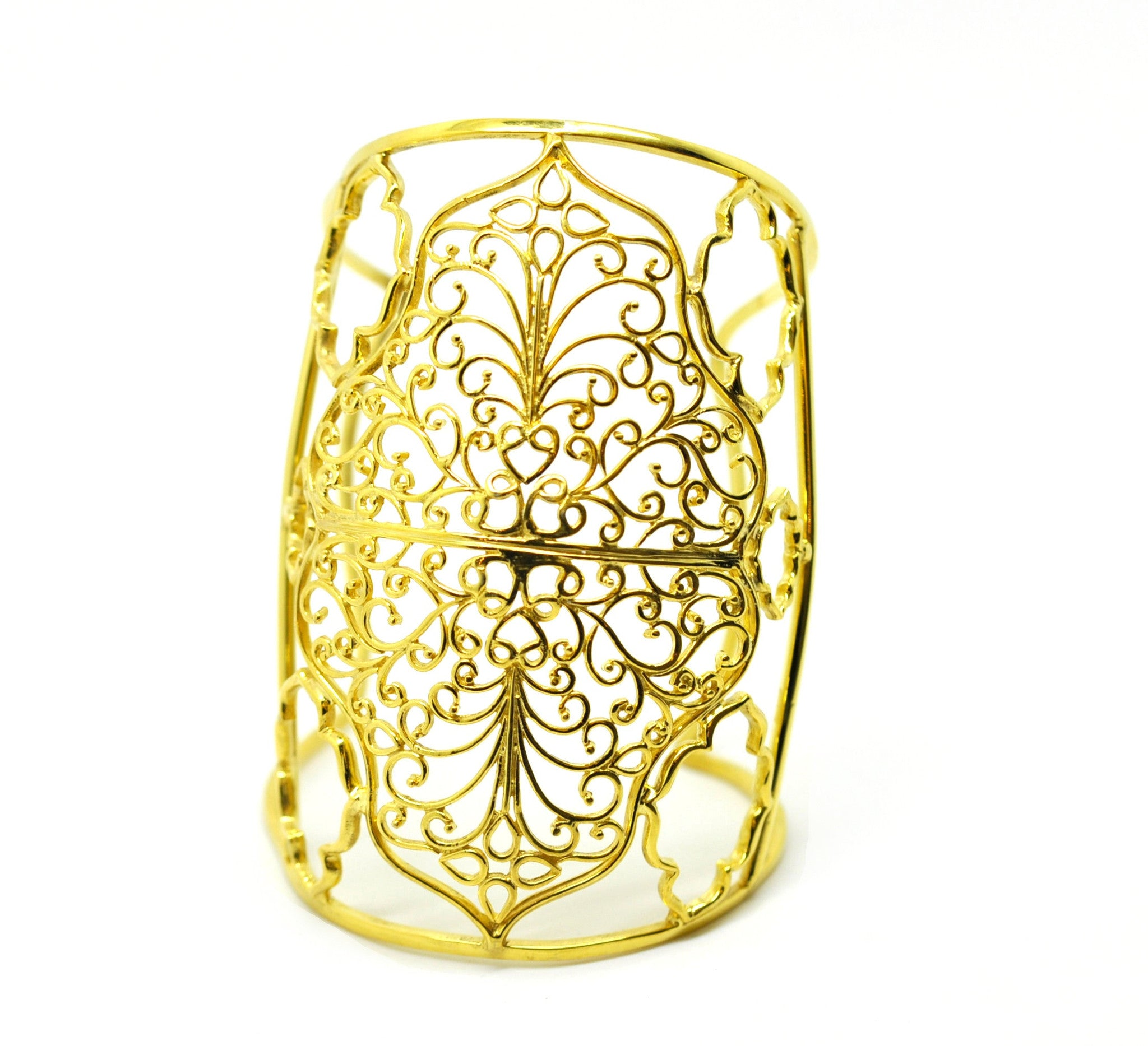 ON SALE Wide Filigree Cuff GP (clearance)