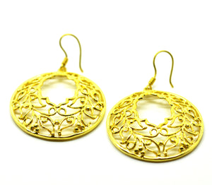 ON SALE Moroccan shape round filigree (available end April)