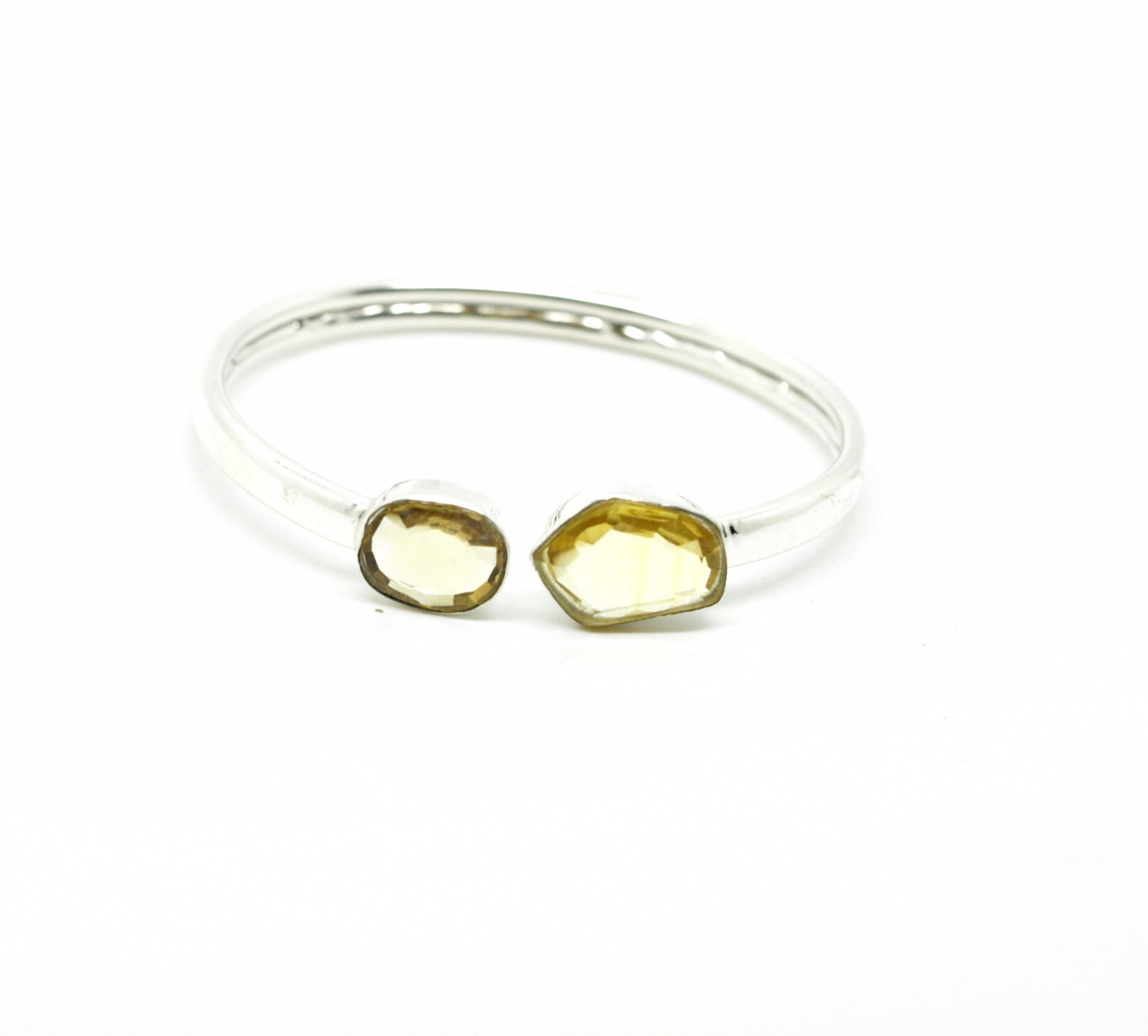 SOLD - On Sale-Thin Cuff - Citrine