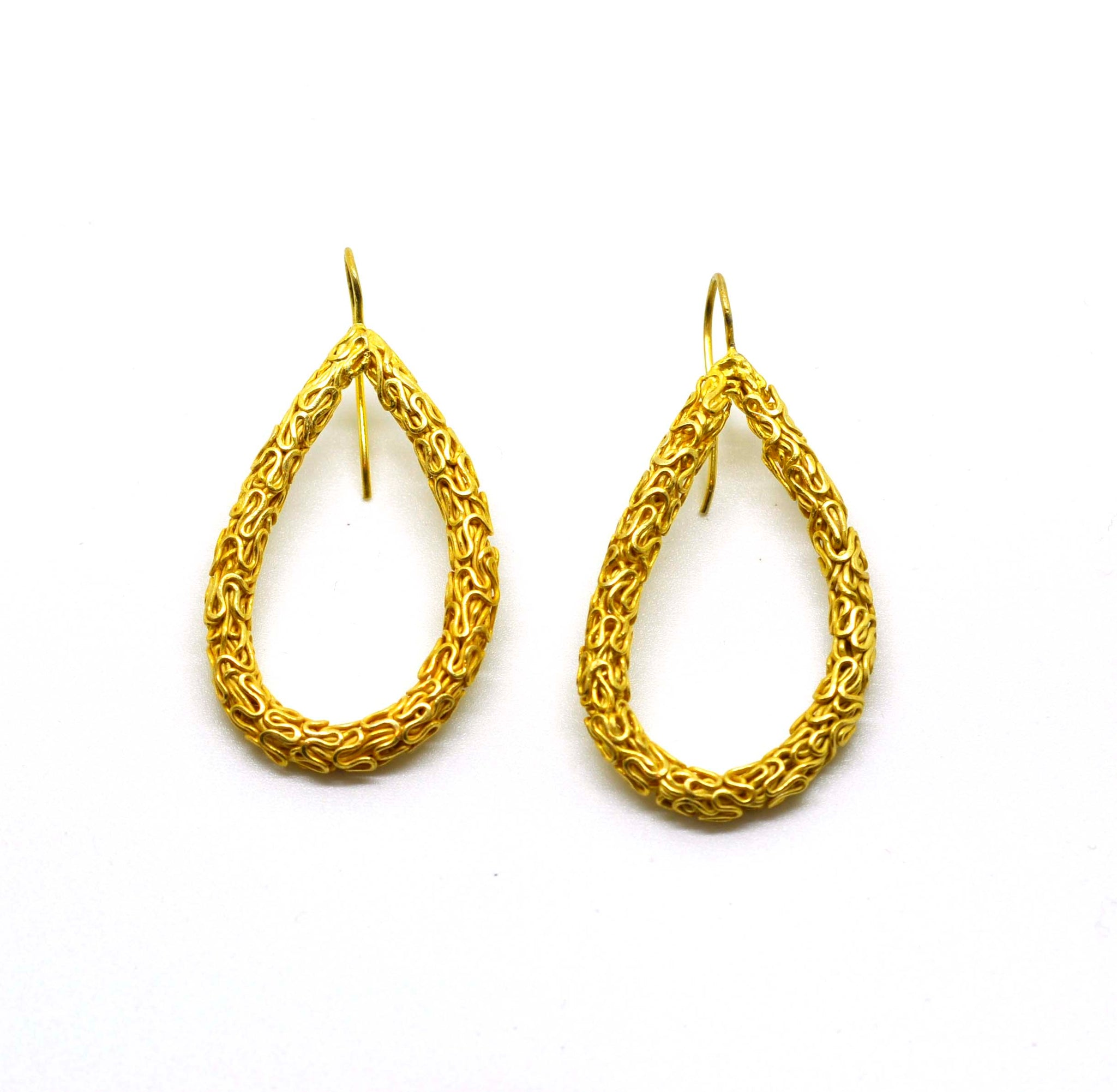 SOLD - ON SALE Wire work earring (clearance)