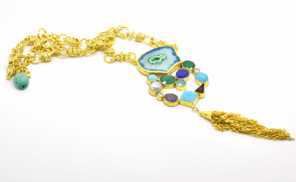 FOR RAYAN - Gemstone Necklace 1