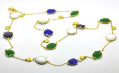 ON SALE Gemstone Necklace 3 (clearance)