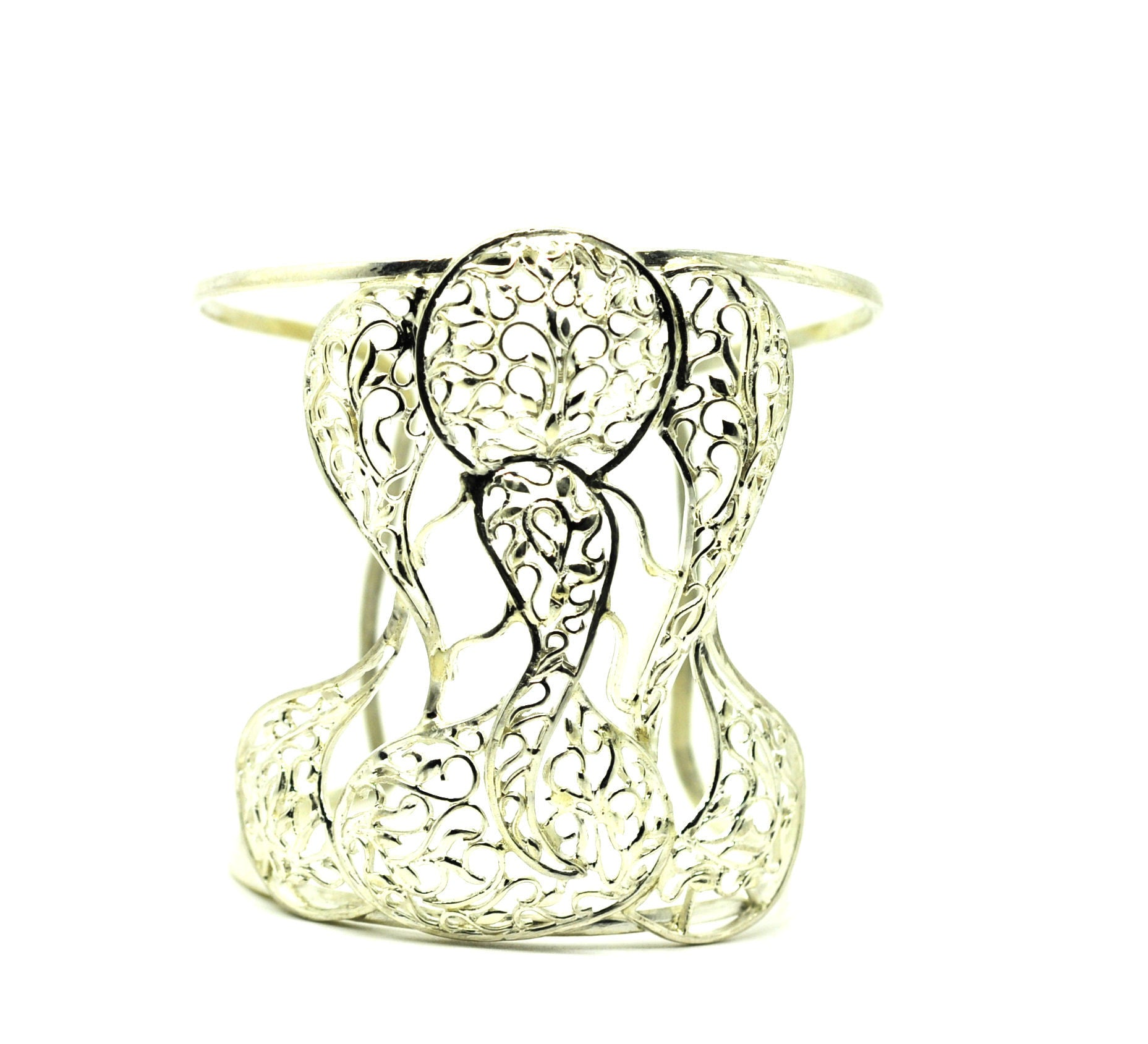 On Sale-Ganesha Filigree Cuff