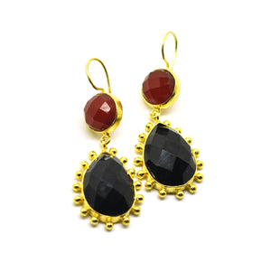 SOLD - 20 in 2020 Red and black onyx