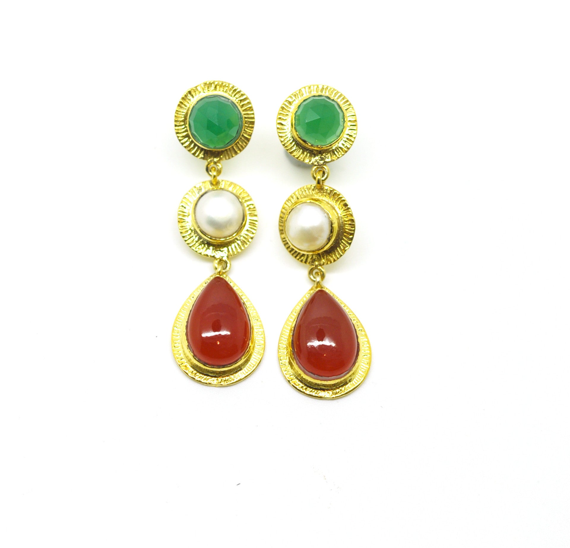 ON SALE  Gemstone earring (clearance)
