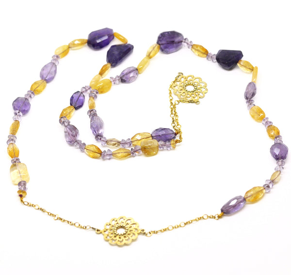SOLD - ON SALE  Amethyst necklace (CLEARANCE)