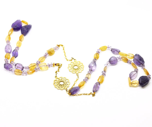ON SALE  Amethyst necklace (CLEARANCE)