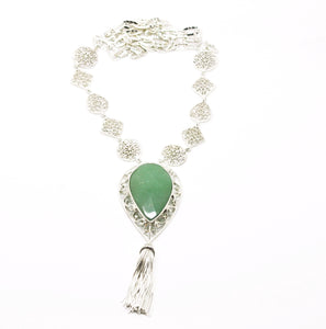 SOLD - ON SALE Aventurine necklace (clearance price)