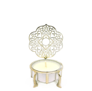 NEW Sterling Silver Filigree Candle holder 4