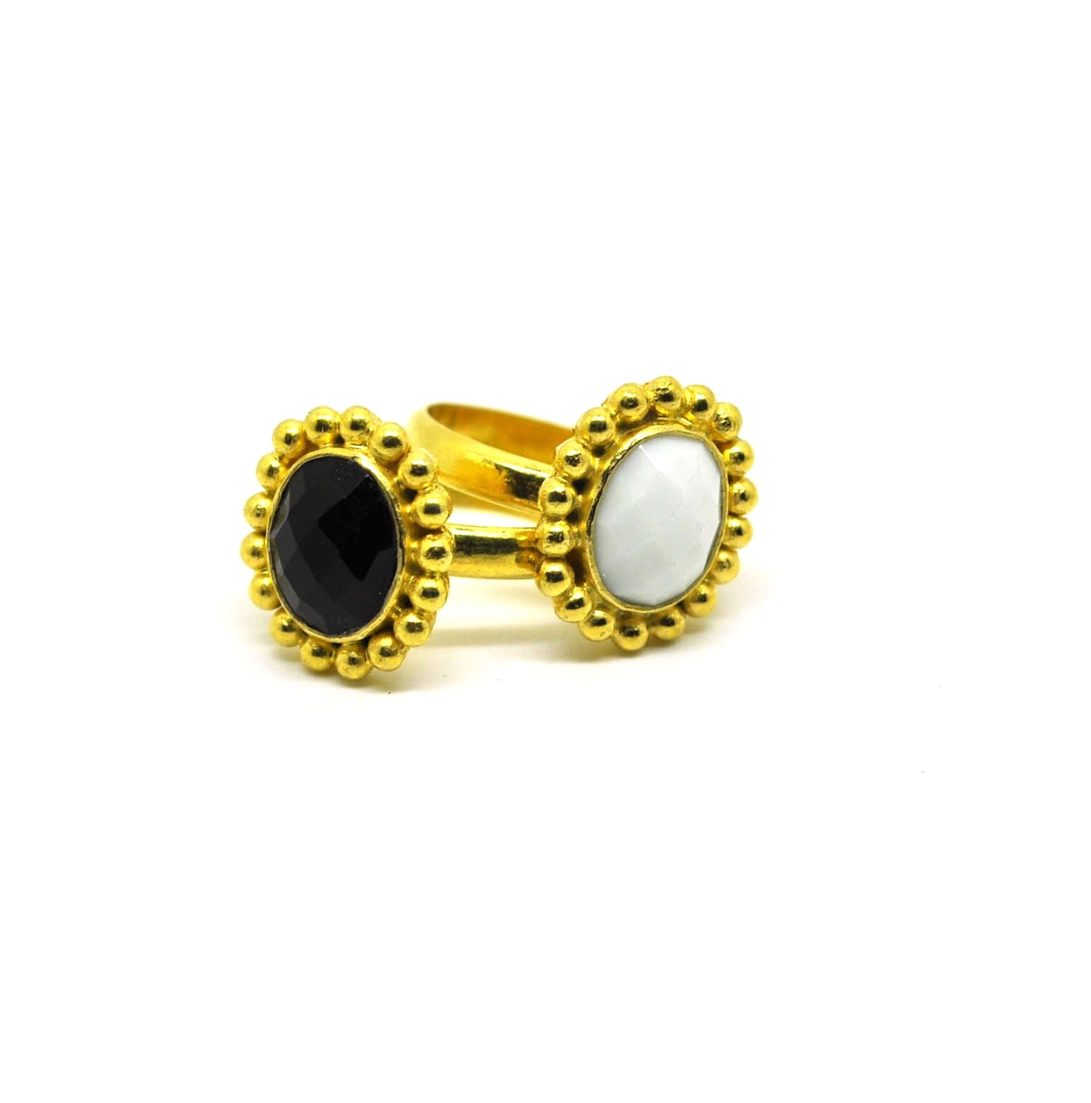 ON SALE Black onyx ring