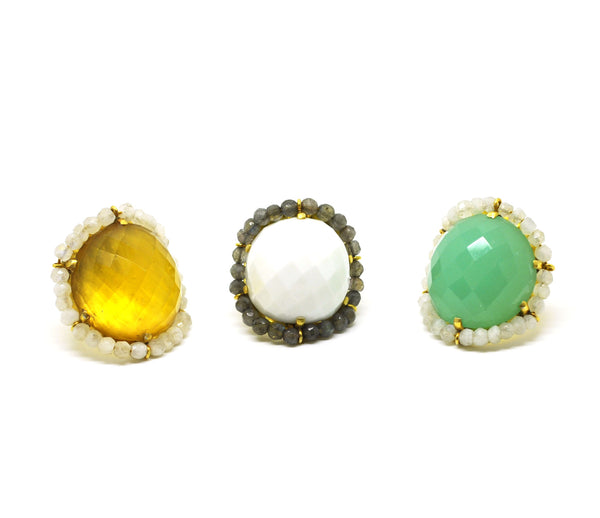 ON SALE - Yellow Quartz Ring (Clearance)