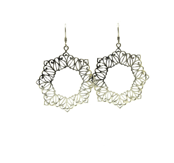 ON SALE Moroccan shape star filigree
