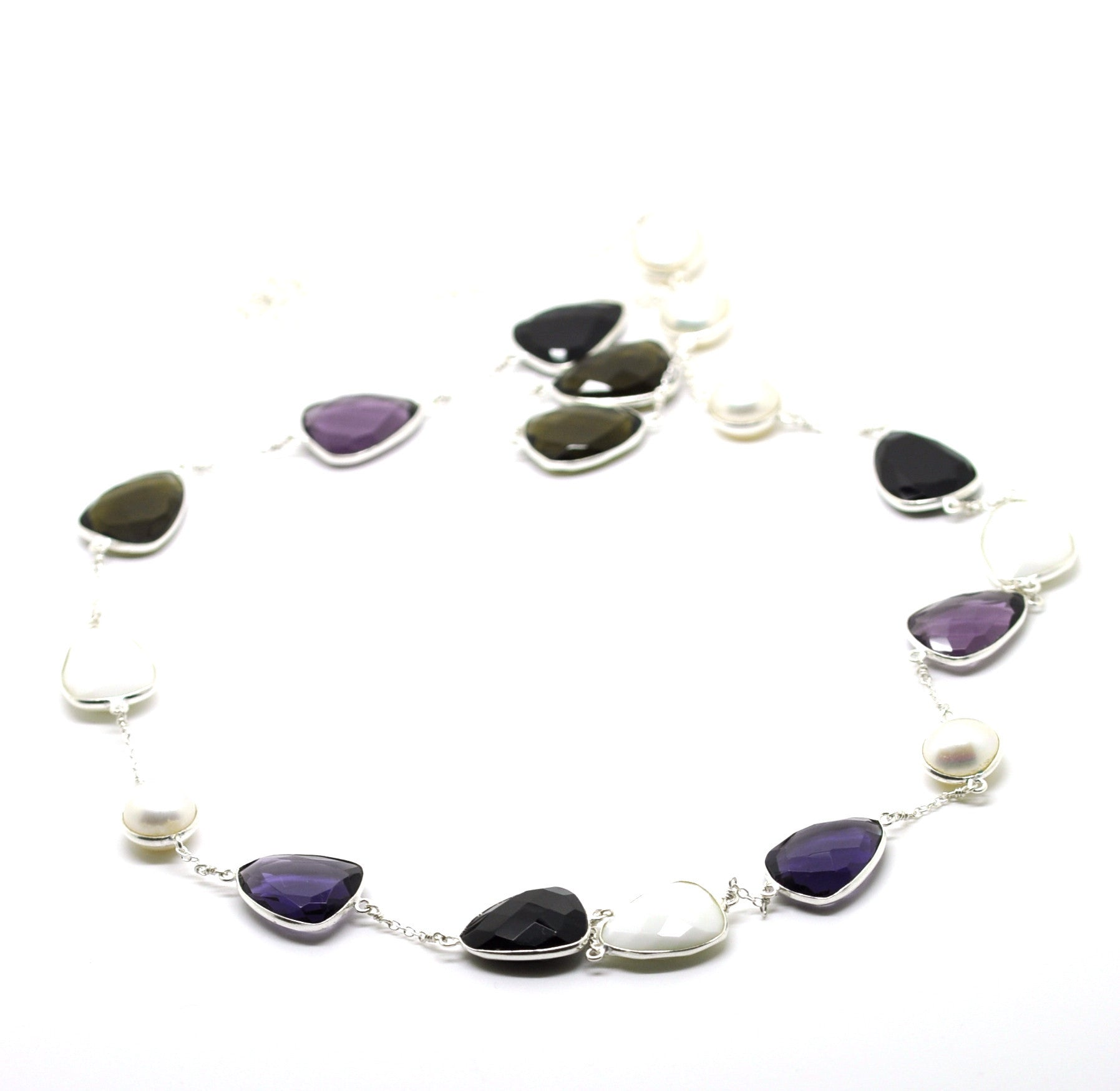 SOLD - ON SALE Gemstone Necklace (clearance price)