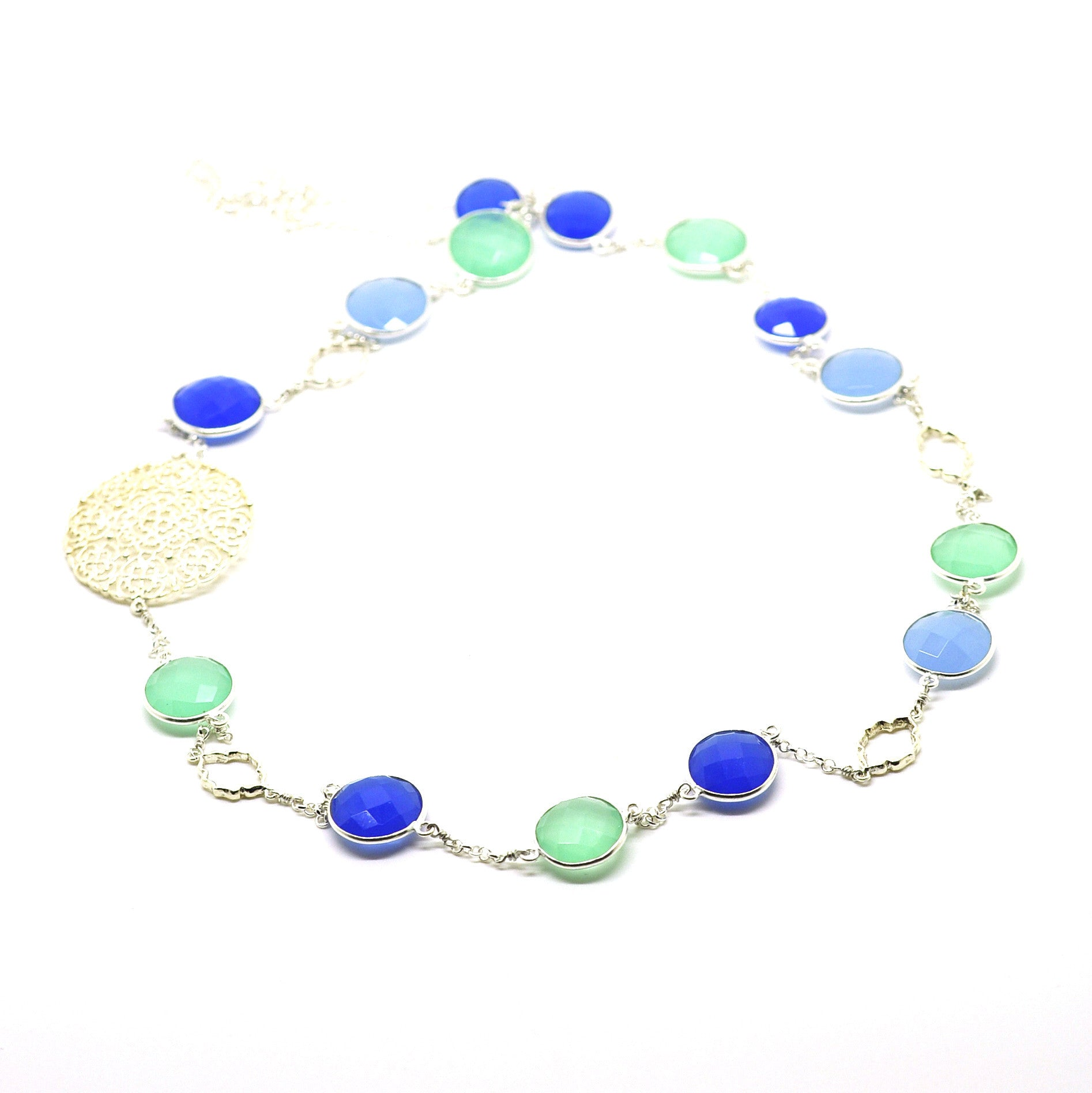 SOLD - ON SALE Gemstone necklace 3 (clearance price)