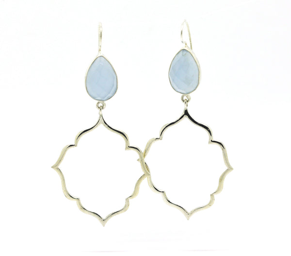ON SALE Moroccan earring -Blue (clearance)