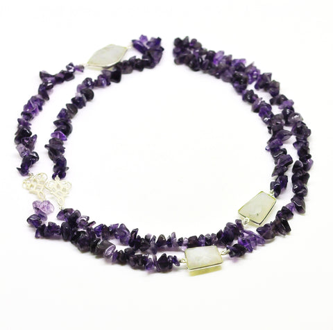 NEW Gemstone string - Amethyst