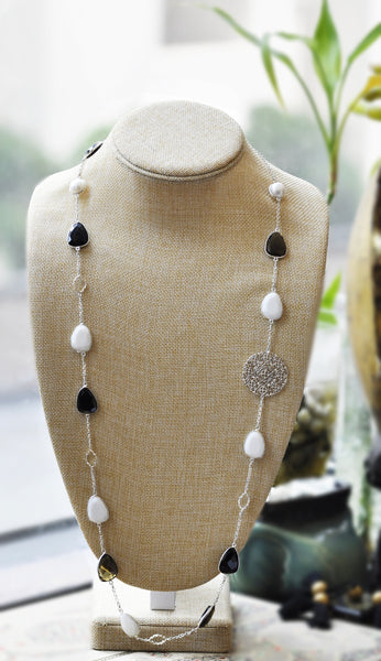 ON SALE Gemstone necklace 2