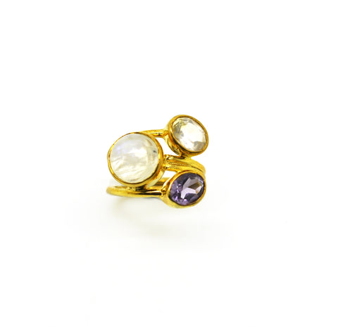 NEW Multi gemstone ring 1