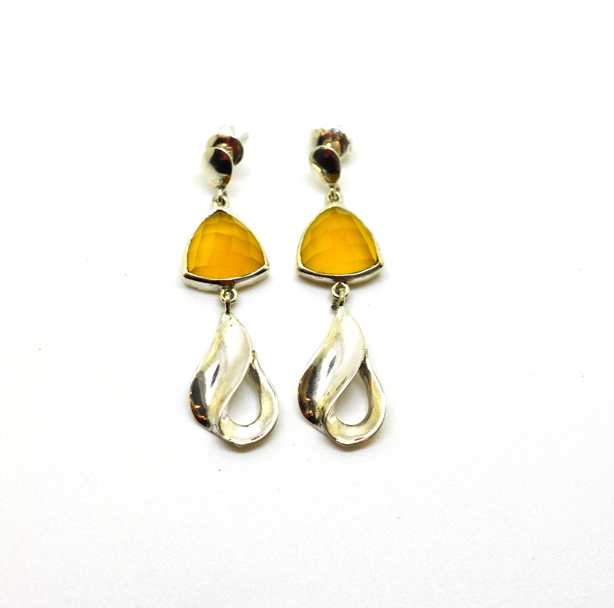 ON SALE Silver drop earring 3
