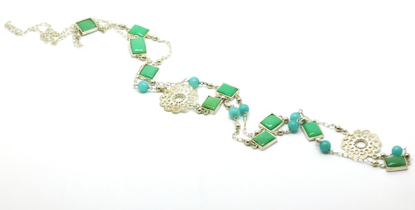 ON SALE Chrysophase necklace (Clearance)