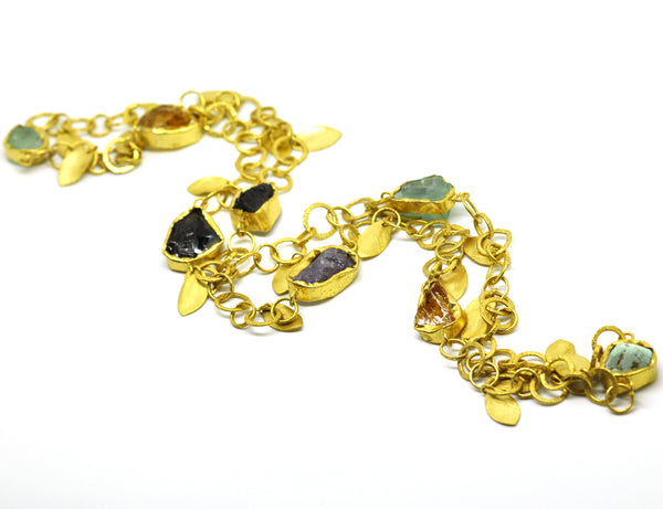 ON SALE  Mixed gemstone necklace (CLEARANCE)
