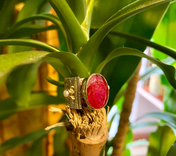 NEW- Ruby ring
