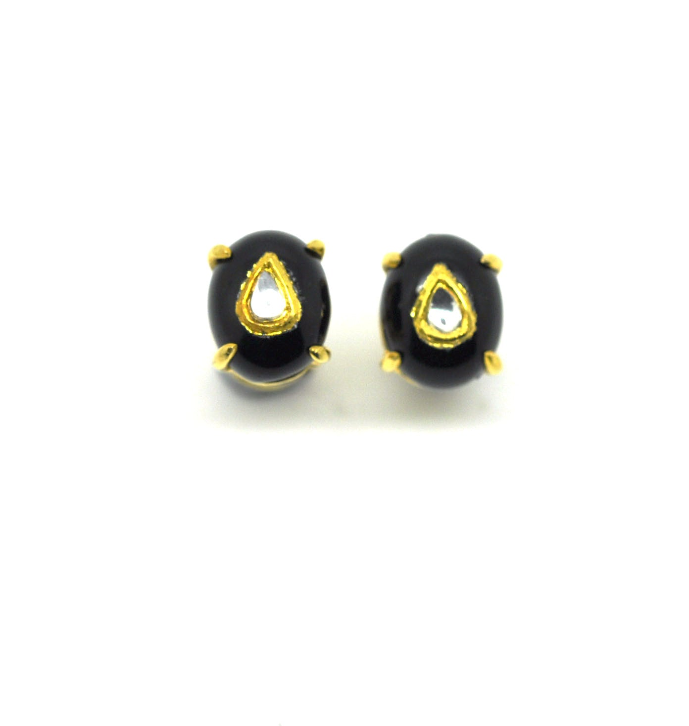 ON SALE Kundan and Black onyx (clearance)