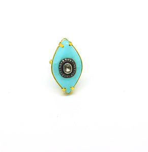 CLEARANCE SALE - ON SALE  Polki Ring