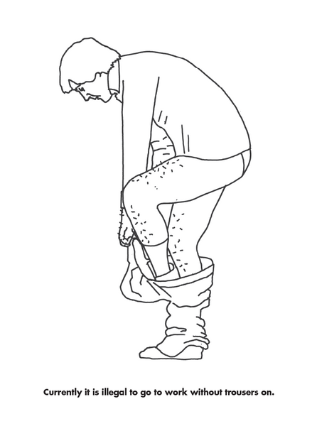 Modern Toss The Working Day Colouring Book