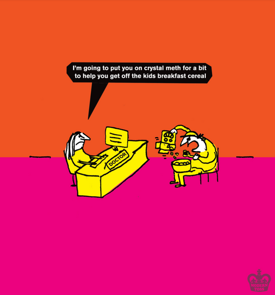 modern toss cereal day