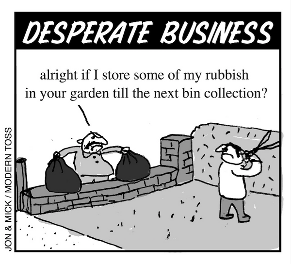 modern toss desperate business