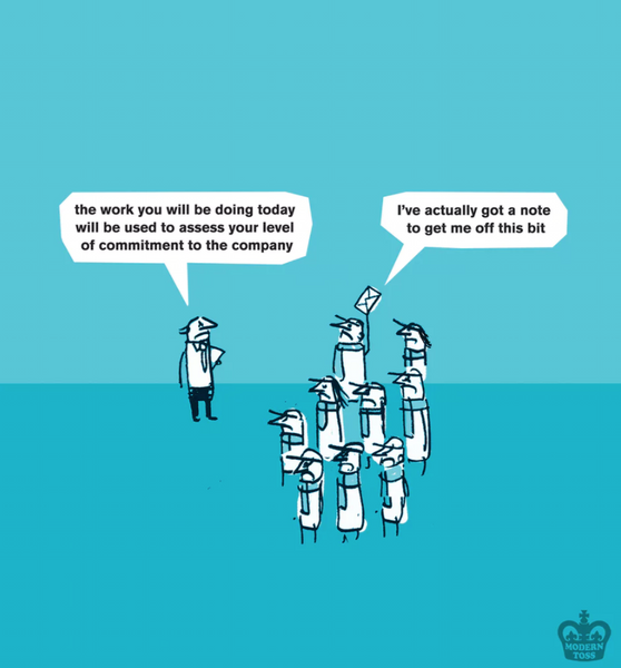 modern toss national employee day