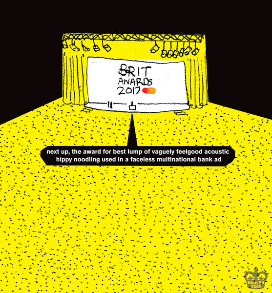 modern toss brit awards