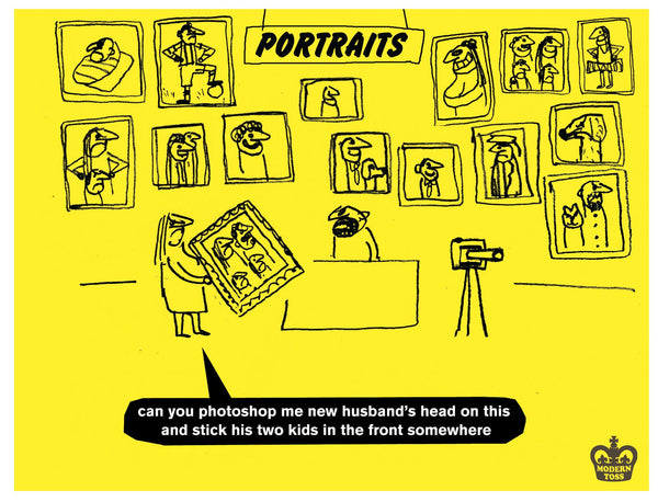 modern toss photography
