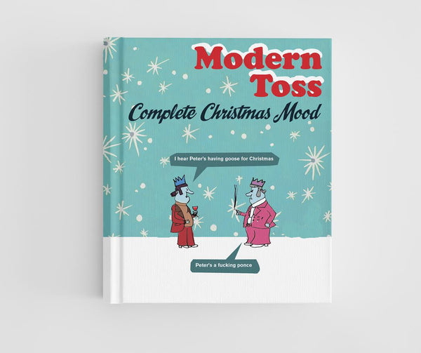 Modern toss christmas book