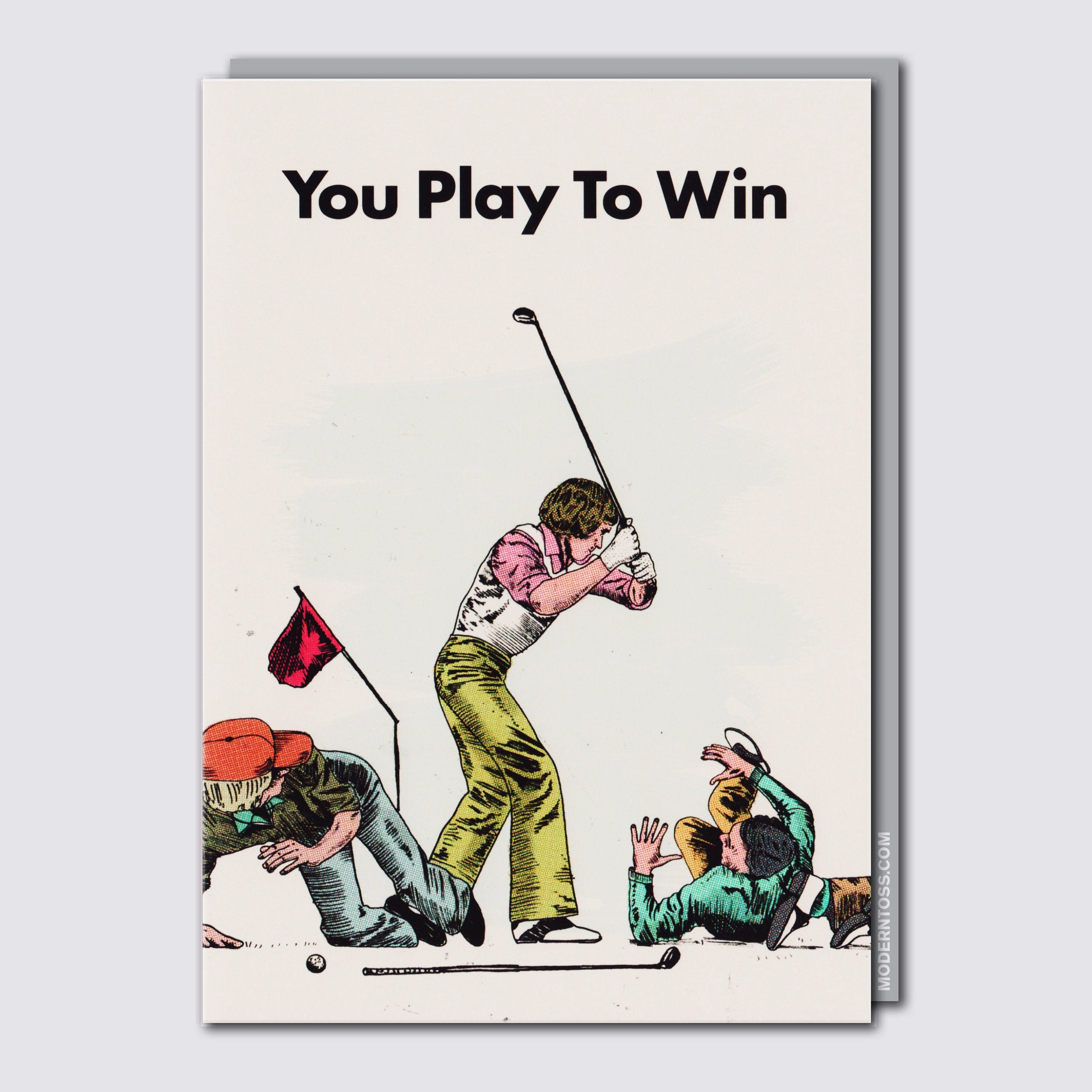 Play To Win Card