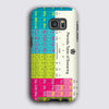 Periodic Table Tough Matte Case