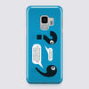 Punctuation Blue Phone Case