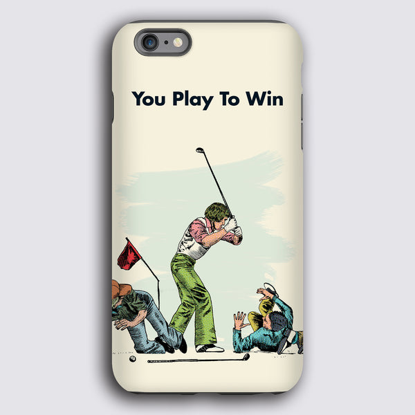 Play to Win Tough Matte Case