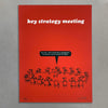 Key Strategy Meeting Screen Print